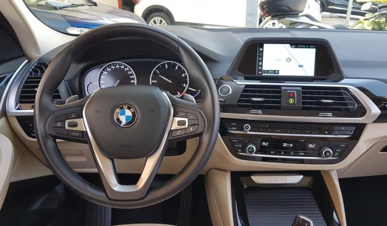 BMW X4  X-DRIVE 20D X-LINE 190cv AUT. pieno